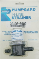 Jabsco Water Pump Pre Filter